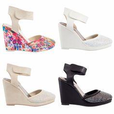 Womens Ladies Platform Sandals Wedges Heels Diamante Side Pattern Shoe Cute Sexy #Unbranded #Wedges #Casual