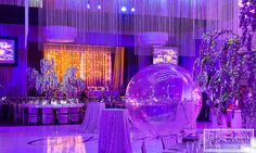 Full service event decor including custom chandelier, furniture, florals, trees and lighting by Event Design Bat Mitzvah, Event Decor, Event Design, Avatar, Florals, Chandelier, Trees, Inspired, Lighting