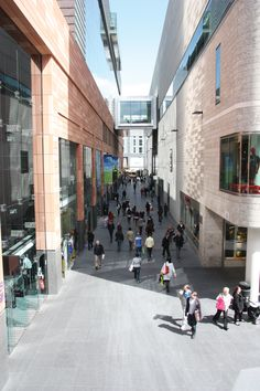 Fancy a bit of afternoon shopping- then head to Liverpool ONE Liverpool Shopping, Liverpool Life, Great Places, Places Ive Been, Commercial Street, Modern Times, Chester, Great Britain, Mall