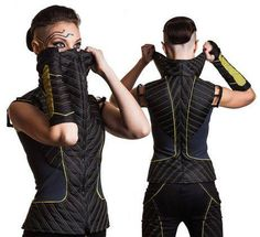 Cyberpunk Fashion, Futuristic Style