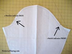 How NOT To Set Your Sleeves In Backwards — 19th C Costuming | Sewing Instructions | Historical Costume | Sewing Pattern Help | Period Clothing