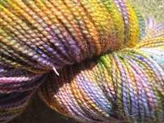 Sock Yarn  Superwash BFL and Nylon  Aurora by GraceandFiber, $19.75