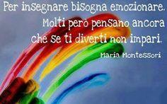 Insegnare - Maria Montessori