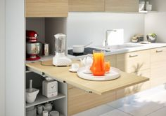 HOME WORK Pull Out table / Worktop Surface | BOX15
