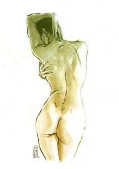 Sketch - Gilles Vranck