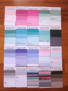 My Complete Zyla Palette, Jeweltone Summer ~ sample palette found here on Pinterest. Not sure whose it is.