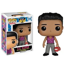 This is the Saved By The Bell POP A.C. Slater Vinyl Figure that's produced by Funko. He looks fantastic and makes for a definitely unique POP Vinyl! It's great to see the characters of Saved By The Be