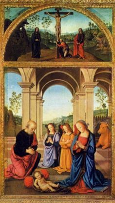 Polyptych Albani Torlonia c. 1491 Tempera on wood Torlonia Collection, Rome
