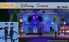"""ajoya-sims: """"nolween-sims: """"Disney Store - BY NANA •  If you use it, please tag """"nolween-sims"""" or link my tumblr ! ^_^ •  Don't reupload ! • ALL Crédit in folder You need to have this 3 download..."""