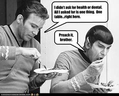 Preach it, brother. Star Trek/ Spock humor. Why does Spock make me laugh so?!