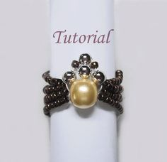 Beaded Spider Ring Tutorial