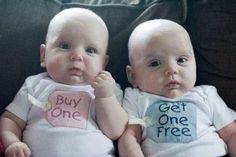 QUE LINDOS, Compre uno y obtenga el segundo gratis!! AJAJA!
