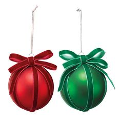 Decorate your tree with the lovely and festive glass ball ornament tied in a luxe ribbon and topped with a bow. Ball Ornaments, Holiday Ornaments, Christmas Decorations, Holiday Decor, Christmas Ideas, Best Affordable Makeup Brushes, Family Gift Baskets, Avon Collectibles, Perfume Gift Sets