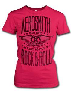 hmm, I never did own a Pink Aero tee!    Aerosmith Bad Boys of Boston T-Shirt | AeroForceOne
