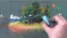 Mini-Demo: Pastel Painting Video Chalk Pastel Art, Soft Pastel Art, Pastel Artwork, Chalk Pastels, Pastel Drawing, Pastel Paintings, Horse Paintings, Soft Pastels, Painting Videos