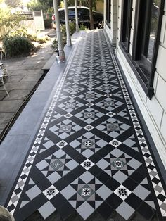 from Antonino - OET Front Verandah, Front Porch, Up House, House Front, Porch Tile, Exterior Tiles, California Bungalow, Outdoor Tiles, Vernacular Architecture
