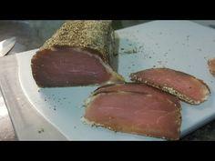 Como hacer lomo de cerdo curado a la pimienta en casa - YouTube Waste Reduction, Food Waste, Canapes, Sin Gluten, Pork, Cooking Recipes, Make It Yourself, Yummy Yummy, Diy