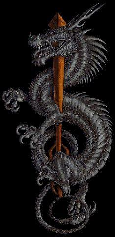 Silver dragon fantasy art cross stitch pattern in pdf Fantasy Dragon, Fantasy Art, Japanese Dragon Tattoos, Year Of The Dragon, Dragon's Lair, Dragon Artwork, Celtic Dragon, Dragon Tattoo Designs, Tatoo Art