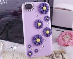 gift for her3D iphone case 3D flower phone4 case by dnnayding, $18.99