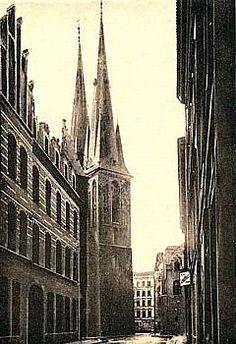 Berlin -- Nikolai-Kirche um 1925