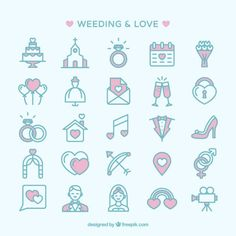 More than a million free vectors, PSD, photos and free icons. Exclusive freebies and all graphic resources that you need for your projects Wedding Symbols, Wedding Logos, Wedding Cards, Wedding Icon, Free Wedding, Wedding Prep, Pink And White Background, Bullet Journal Month, Adobe Illustrator