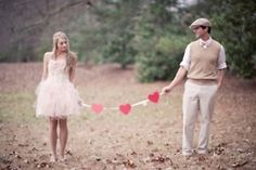 would adore this with a bunch of balloons... or an umbrella in the snow #savethedate