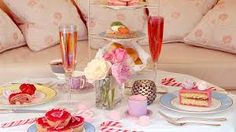 Image result for unique tea champagne & crumpets settings