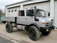 Silver Mercedes Benz Unimog, Mercedes Benz Trucks, Cool Trucks, Big Trucks, Van 4x4, Suv Models, Expedition Vehicle, Jeep 4x4, Transporter