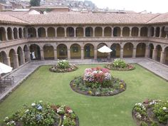 The Hotel Monasterio in Cusco, Peru. True to its name, it used to be a Spanish monastery.