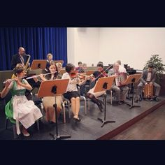 Orchestra for the Memorial of Christ Jesus Death in Dingolfing, Southern Bavaria, Germany. -Jw.org-