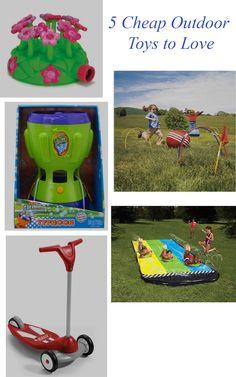 Cheap Outdoor Toys