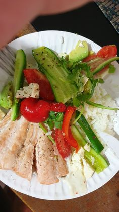 Passion 4 Food — Coming Soon Steamed Rice, Cucumber Salad, Summer Salads, Cider Vinegar, Lunches, Frugal, Feta, Olive Oil, Avocado