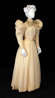 1899 Wedding Dress.