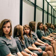 solution nombre femme photo miroir