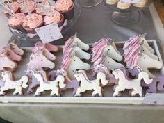Unicorn Birthday Party. Would be cute for a Nella the princess knight party
