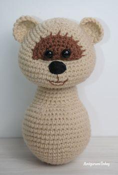 Amigurumi honey teddy bears - free pattern