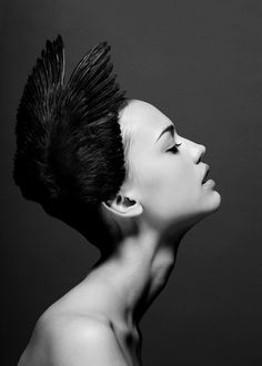 Some of the most amazing black and white portrait photographs I've ever seen! www.rollthedrumss.com/archive