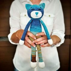 Ami Cat crochet pattern