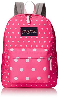 JanSport SuperBreak Backpack (Spring 2015) (Fluorescent Pink Spots) JanSport http://www.amazon.com/dp/B00PXC9HKE/ref=cm_sw_r_pi_dp_Hzy5ub136X3XF