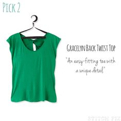A Top with a Twist not green