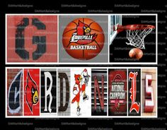 University of Louisville Cardinals Framed by DAMartndesign on Etsy, $39.00