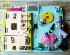 Sloane's Busy Board by BrodysBusyBoards on Etsy