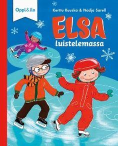 Pakkanen nipistelee Elsan poskia, kun hän saapuu päiväkotiin. Elsa on innoissaan. Hän on lähdössä ensimmäistä kertaa päiväkotiryhmänsä kanssa luistelemaan. Tömpsis, miksei Elsa pysynytkään pystyssä? Miten luistimilla kävellään kuin pingviinit ja miten autoliu'ussa huristellaan?   Mukaansatempaavan tarinan lisäksi jokaisen kirjan lopussa on aiheeseen liittyvä tieto-osuus, jonka avulla lapsi voi opetella mielenkiintoisia asioita ja keskustella niistä yhdessä aikuisen kanssa. Tieto, Frosted Flakes, Elsa, Cereal, Breakfast Cereal, Corn Flakes