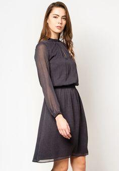 MANGO Printed Chiffon Dress 印花雪紡連身裙