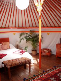 The Hoopoe Yurt Hotel, Cortes de la Frontera, Andalucia, Spain