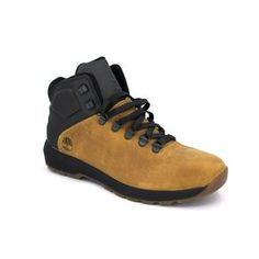 Timberland Westford Mid Leather A196L y A183B A196L color Negro A183B color Camel Altura del tacón de 3,5 cm Altura de la caña de 10 cm Contorno de tobillo de 31 cm