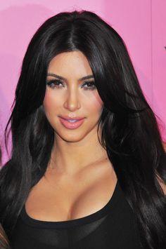 Kim Kardashian gorgeous big hair