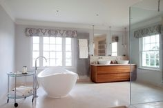 Master bathroom- I love all that space!
