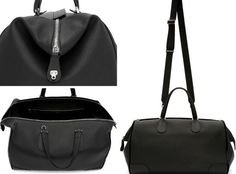 18 Best Men s Black Leather Tote Bags images   Black leather tote ... cf1f179732