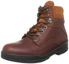 Wolverine Men's W03122 Work Boot Wolverine. $98.99. Manmade sole. Full-Grain Pigskin Leather Upper. leather. Slip Resistant Outsole. Six Inch Upper. Soft Toe. Fiberglass Shank